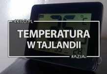 temperatura w tajlandii pogoda azja prognoza