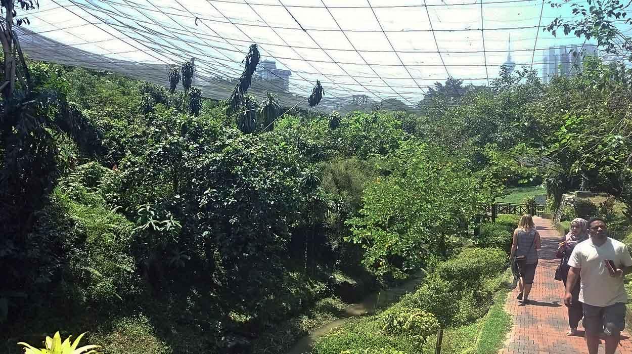 kuala lumpur malezja park birds atrakcje ceny