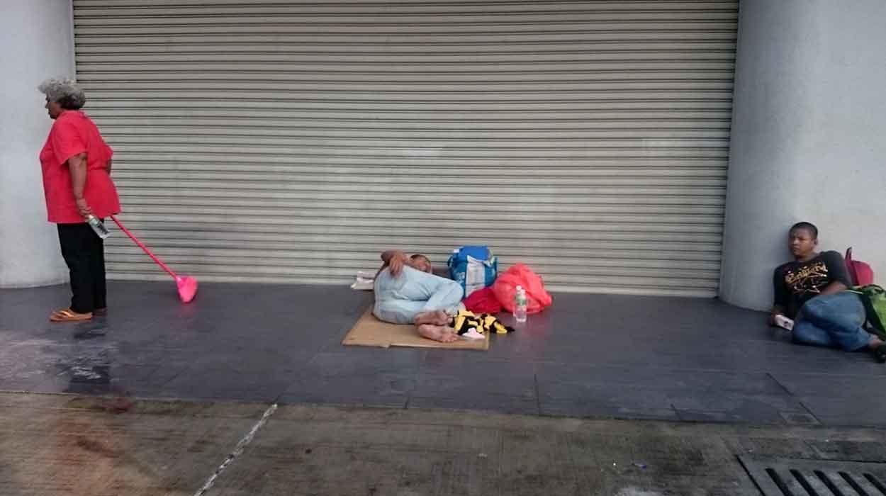 kuala lumpur ulice bezdomni miasto zwiedzanie