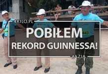 rekord Guinnessa pobiłem tajlandia