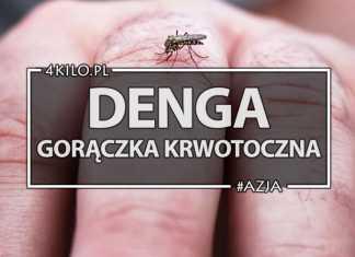 denga w tajlandii gorączka krwotoczna