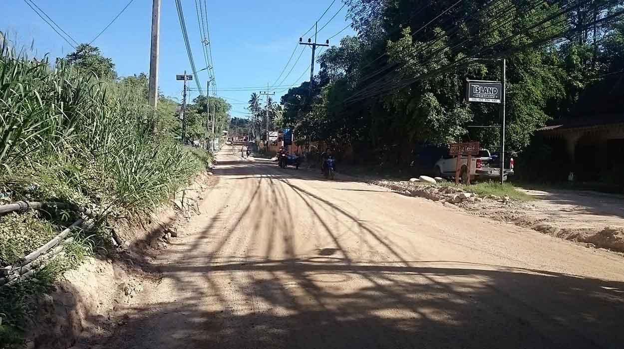 droga budowa tajlandia koh tao