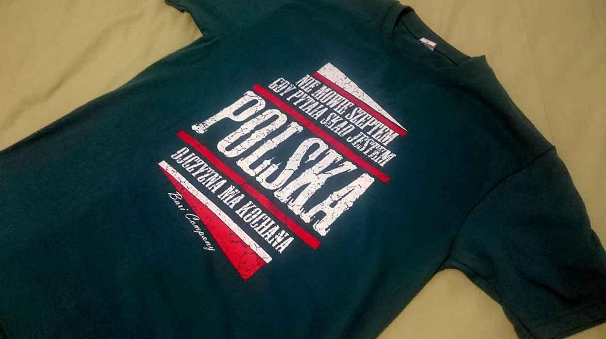 nienawidzę cię polsko azja tajlandia transport targowisko koszulki