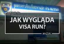 tajlandia azja visa run wiza
