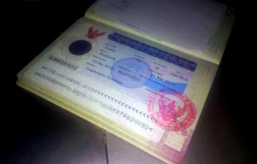 Tajskie wizy