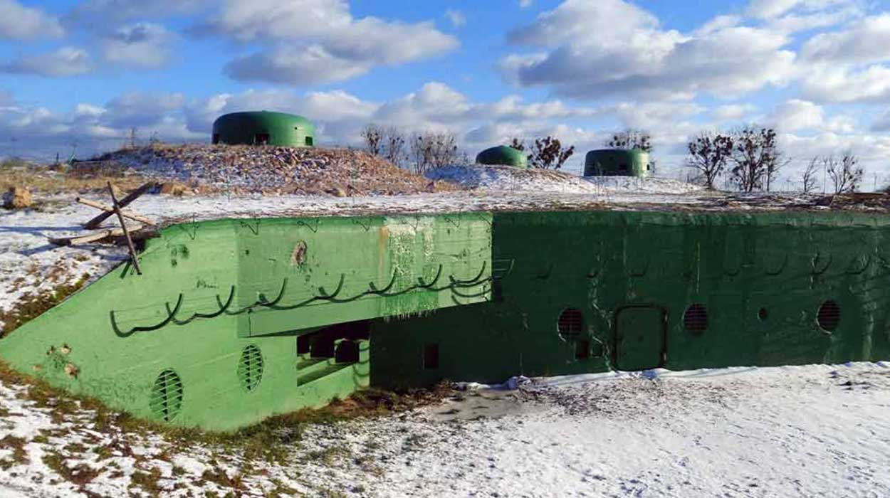 międzyrzecki rejon umocniony mru bunkry fortyfikacje niemcy
