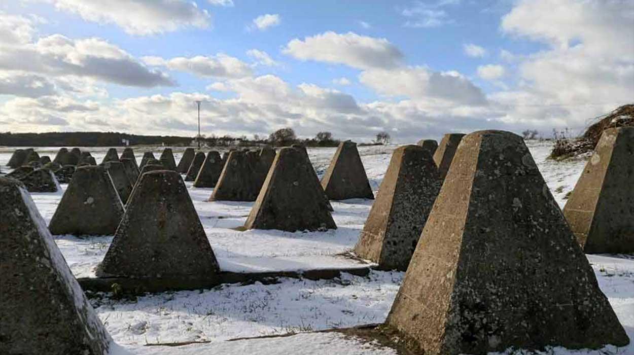 międzyrzecki rejon umocniony mru bunkry nietoperek niemcy zeby smoka