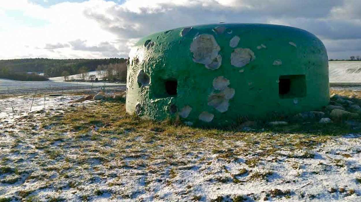 międzyrzecki rejon umocniony mru bunkry wojna podziemia