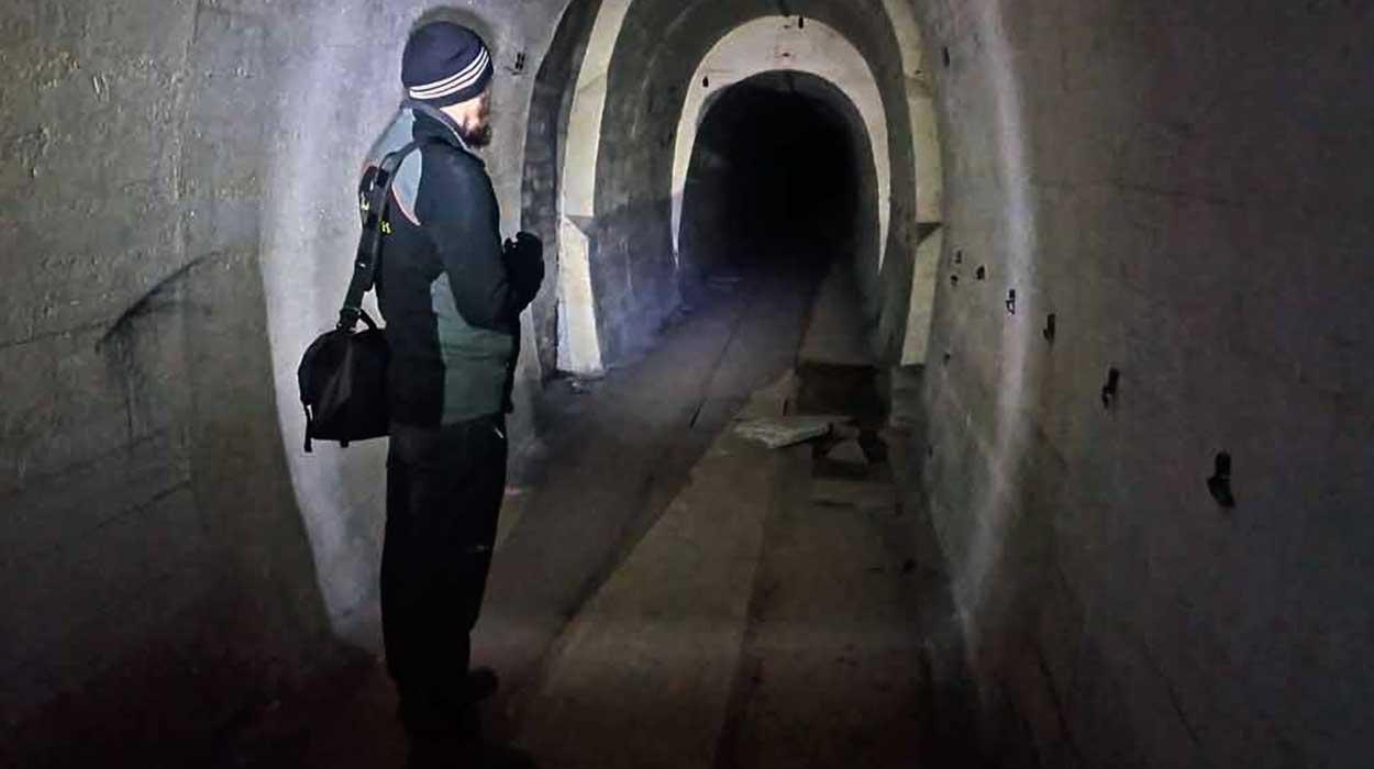 międzyrzecki rejon umocniony mru podziemia tunele wojna