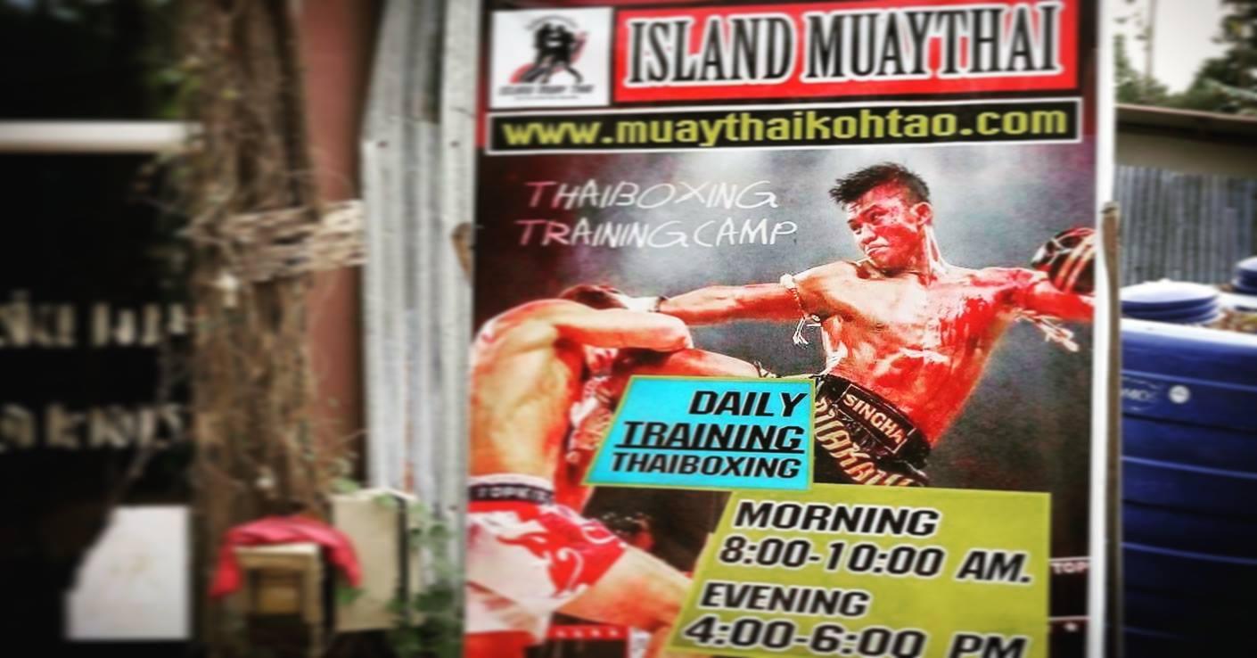 wyspa Koh Tao Muay Thai