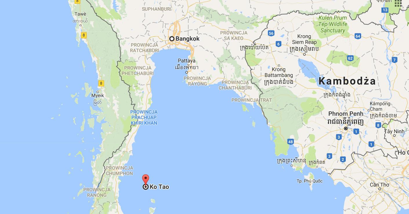wyspa Koh Tao Tajlandia co warto