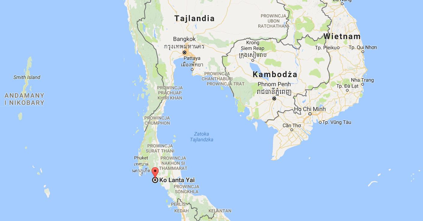 wyspa koh Lanta Yai wyspa Tajlandia snorkeling nurkowanie skutery małpy