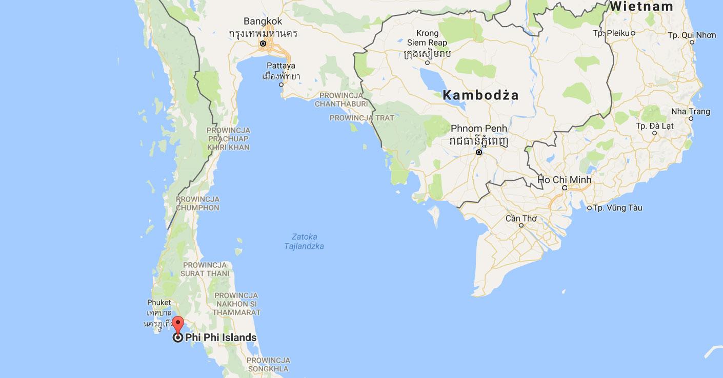 wyspa koh phi phi Tajlandia porady podróżnicze