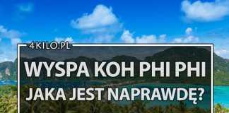koh phi phi wyspa porady ceny dojazd tajlandia