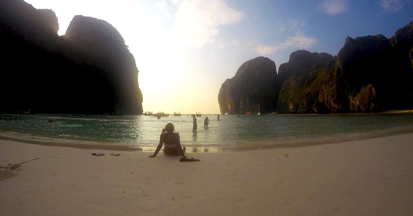 niebiańska plaża maya bay the beach leonardo dicaprio