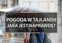 pogoda w tajlandii bangkok azja prognoza porady blog