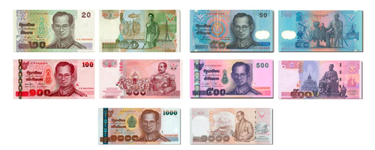 banknoty-tajlandia-kurs-baht-wymiany-waluta