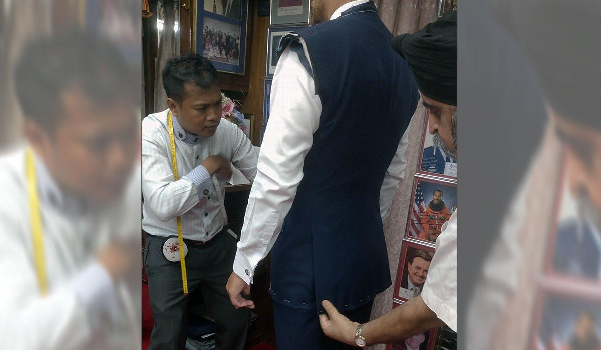 garnitur w Bangkoku krawiec cena ile kosztuje zakupy w bangkoku