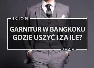 garnitur zakupy w bangkoku cena porady jakość