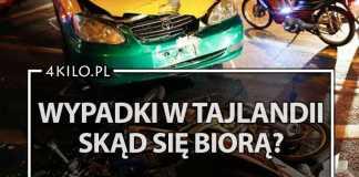 wypadki w tajlandii ruch drogowy wypadek koszt ubezpieczenie