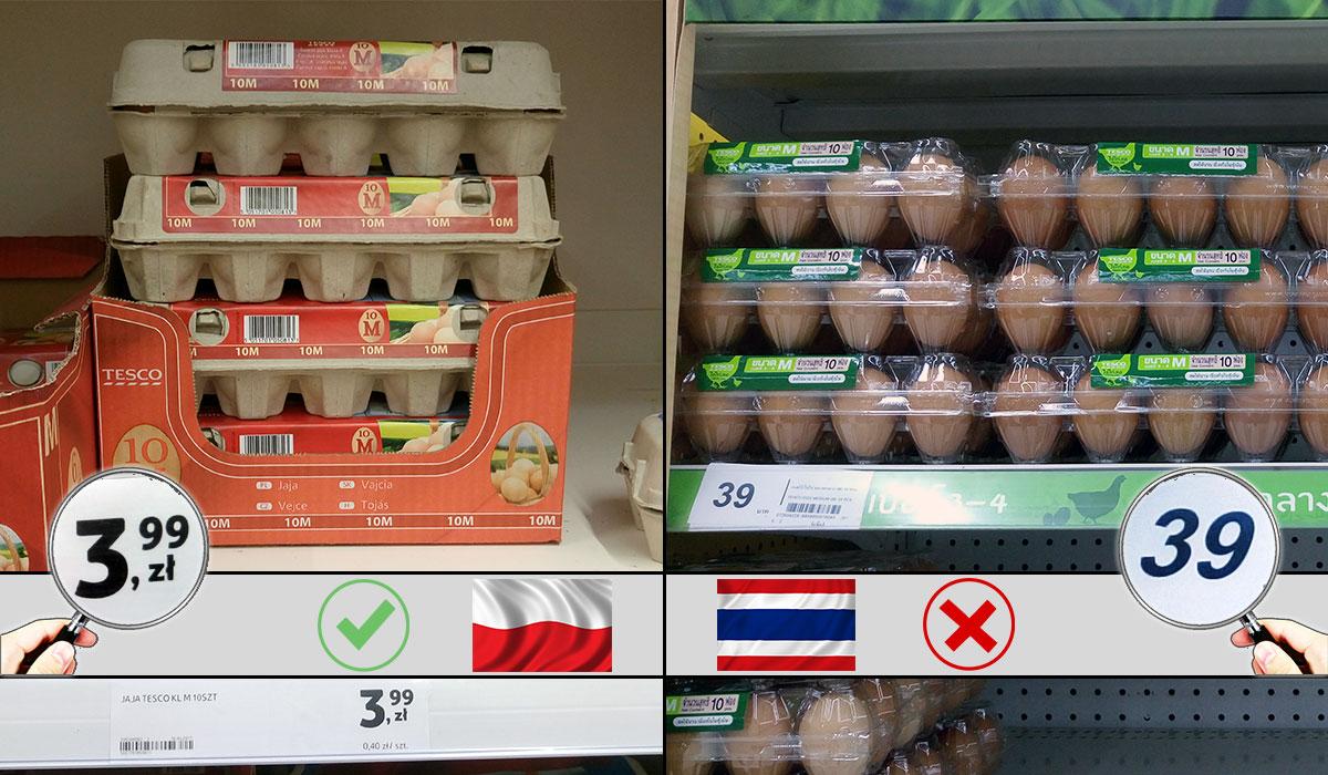 baht Tajlandia jakie ceny Bangkok