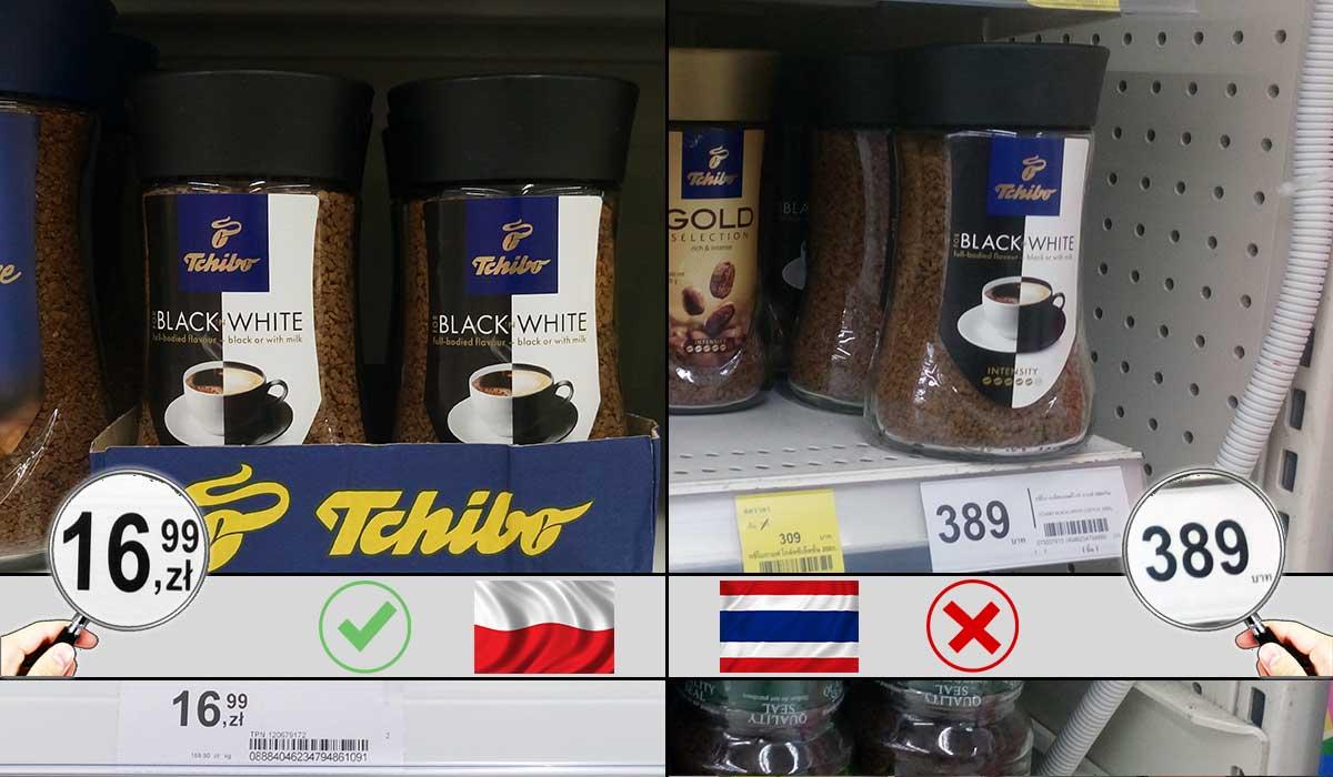 kawa bangkok gdzie kupic jaka cena