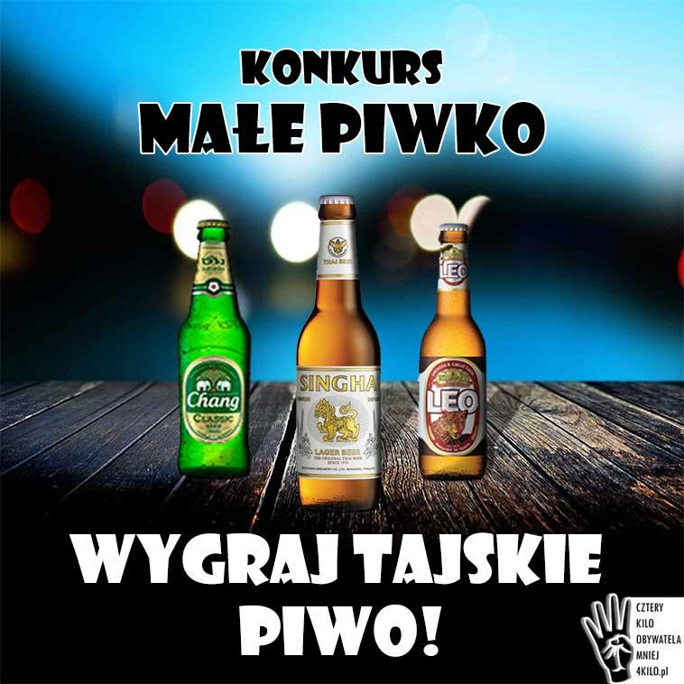 konkurs tajskie piwo chang singha leo smak cena tajlandia browar alkohol ceny