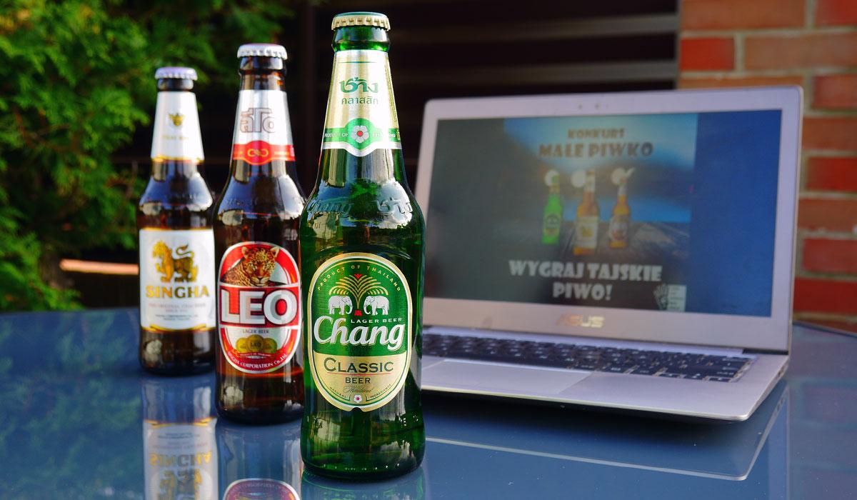 konkurs tajskie piwo chang singha leo smak cena tajlandia browar ceny alkoholu bangkok