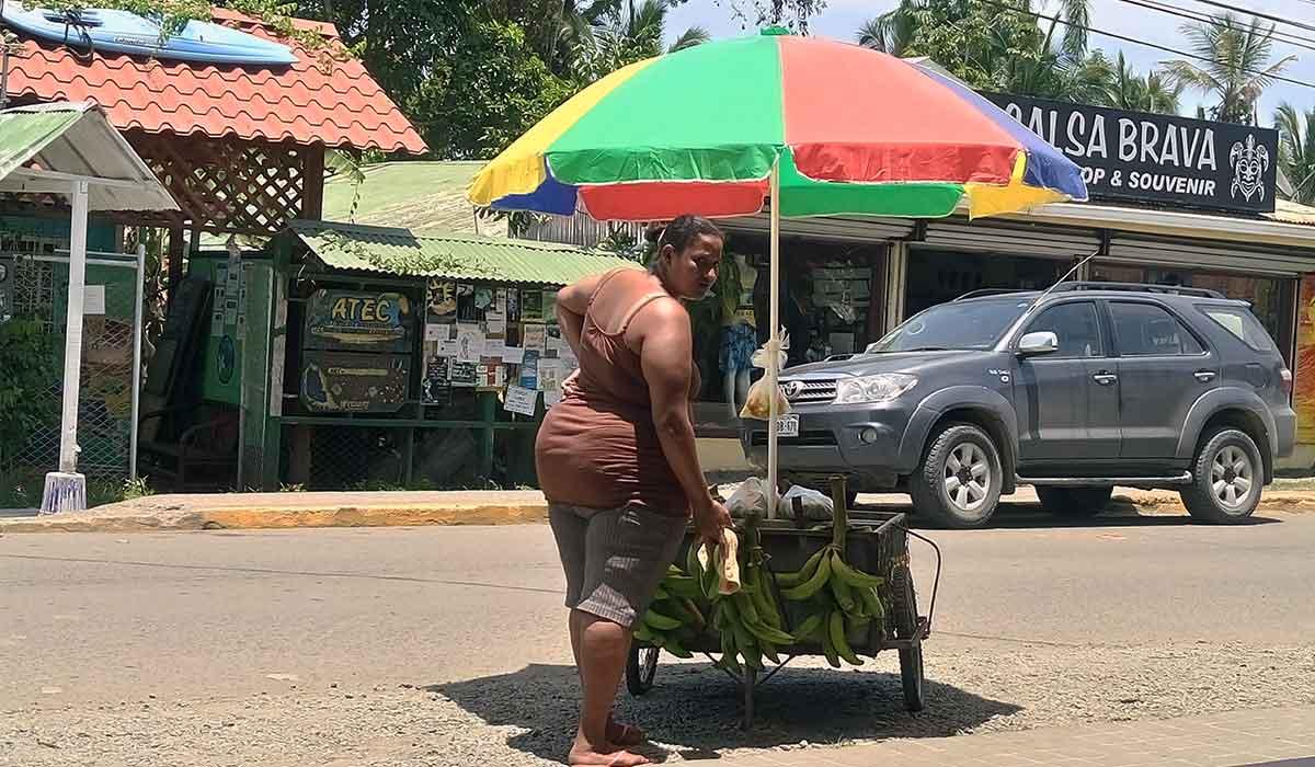 Stolica Kostaryki kostaryka limon miasto ludzie