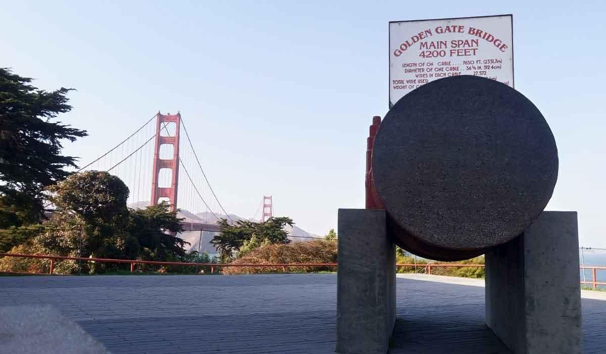 san francisco usa most golden gate zwiedzanie gdzie cena jak dojechac