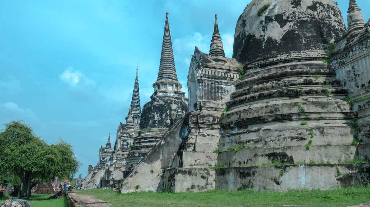 tajlandia w 14 dni bedeker Ayutthaya tajlandia zabytki światynia