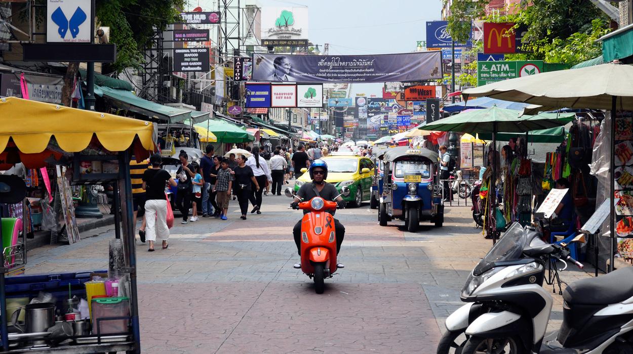 bedeker bangkok khao san road kao san atrakcje zwiedzanie wycieczka