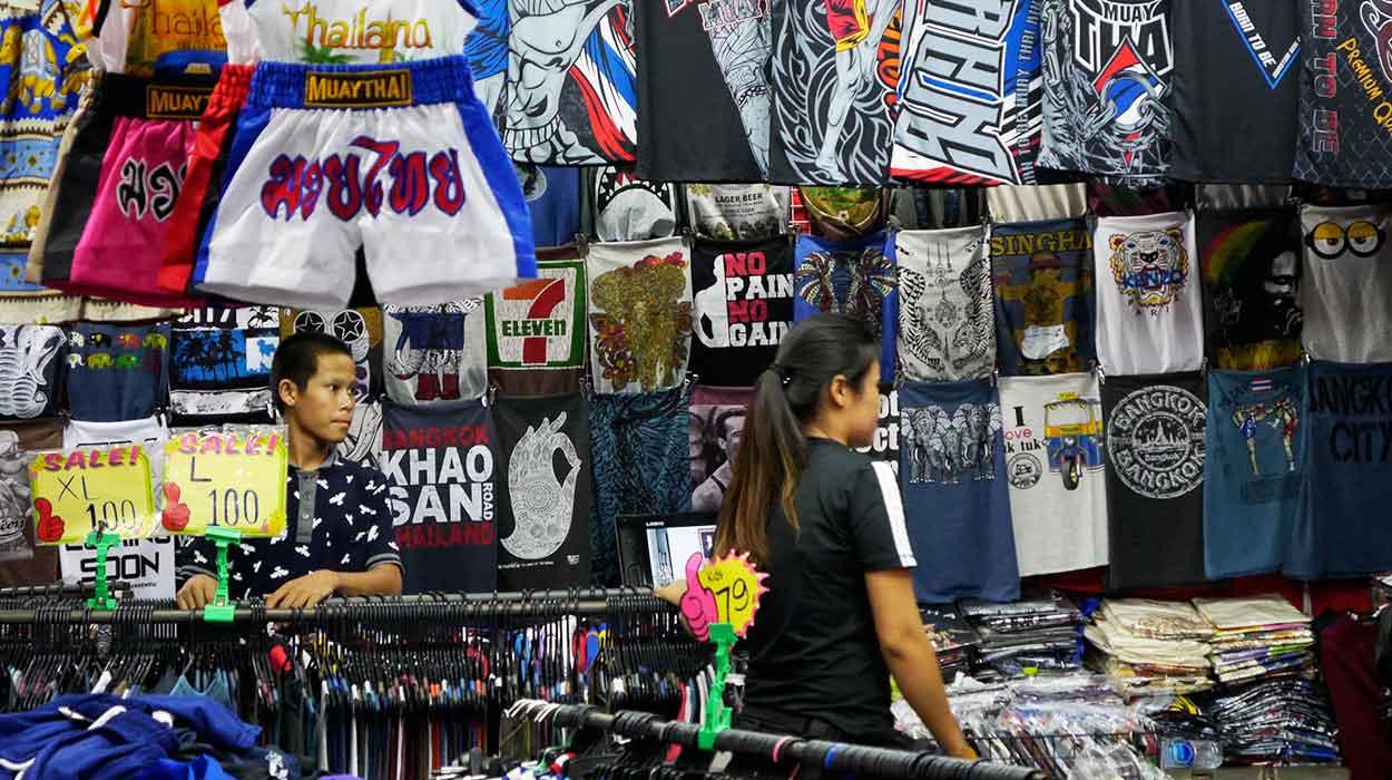 Tajlandia w 14 dni bedeker chatuchak market targ bangkok zakupy ceny tajlandia