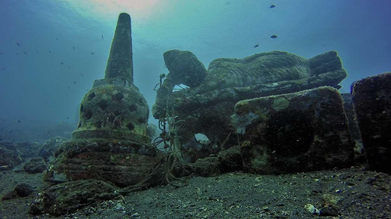 nurkowanie Bali gdzie kiedy cena zatopione