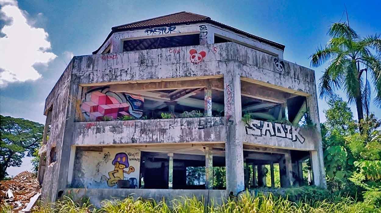phuket opuszczony hotel tajlandia puket zobacz atrakcje