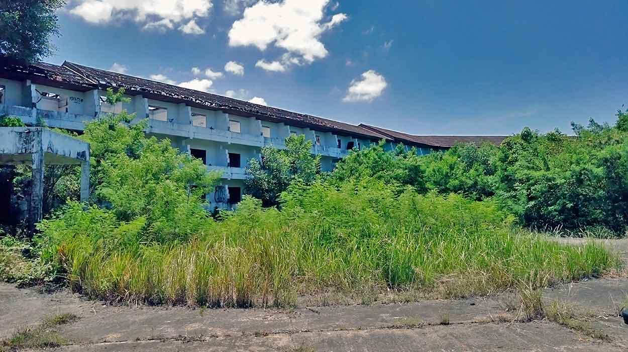 phuket opuszczony hotel zobacz koniecznie puket hostel