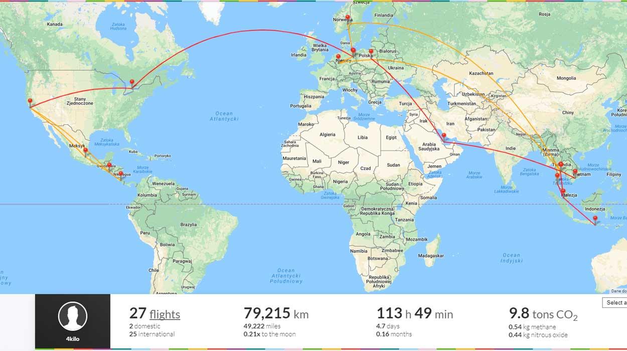 podsumowanie roku blog tajlandia emigracja tropiki samolot