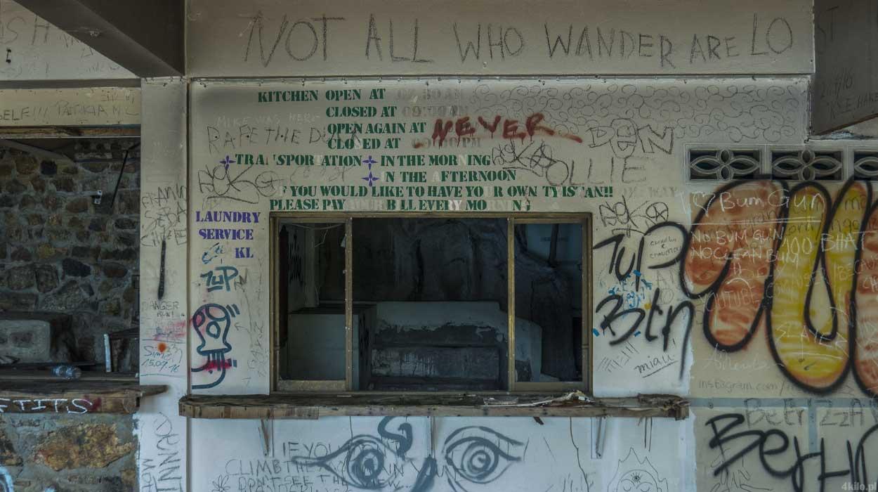 opuszczone domki hotel koh tao
