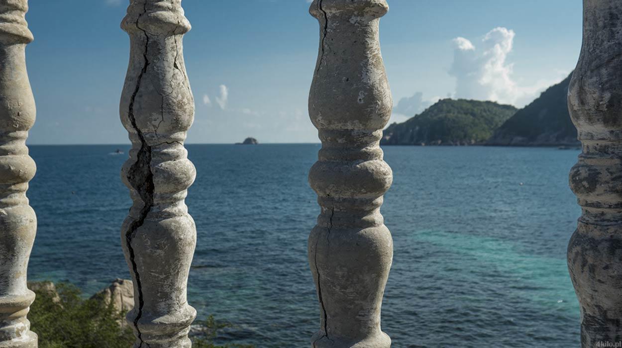 opuszczone domki hotel wyspa koh tao