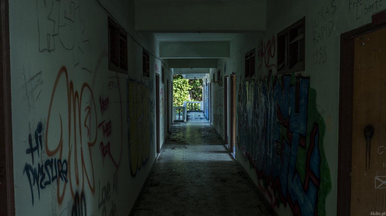opuszczone domki i hotel tajlandia urbex