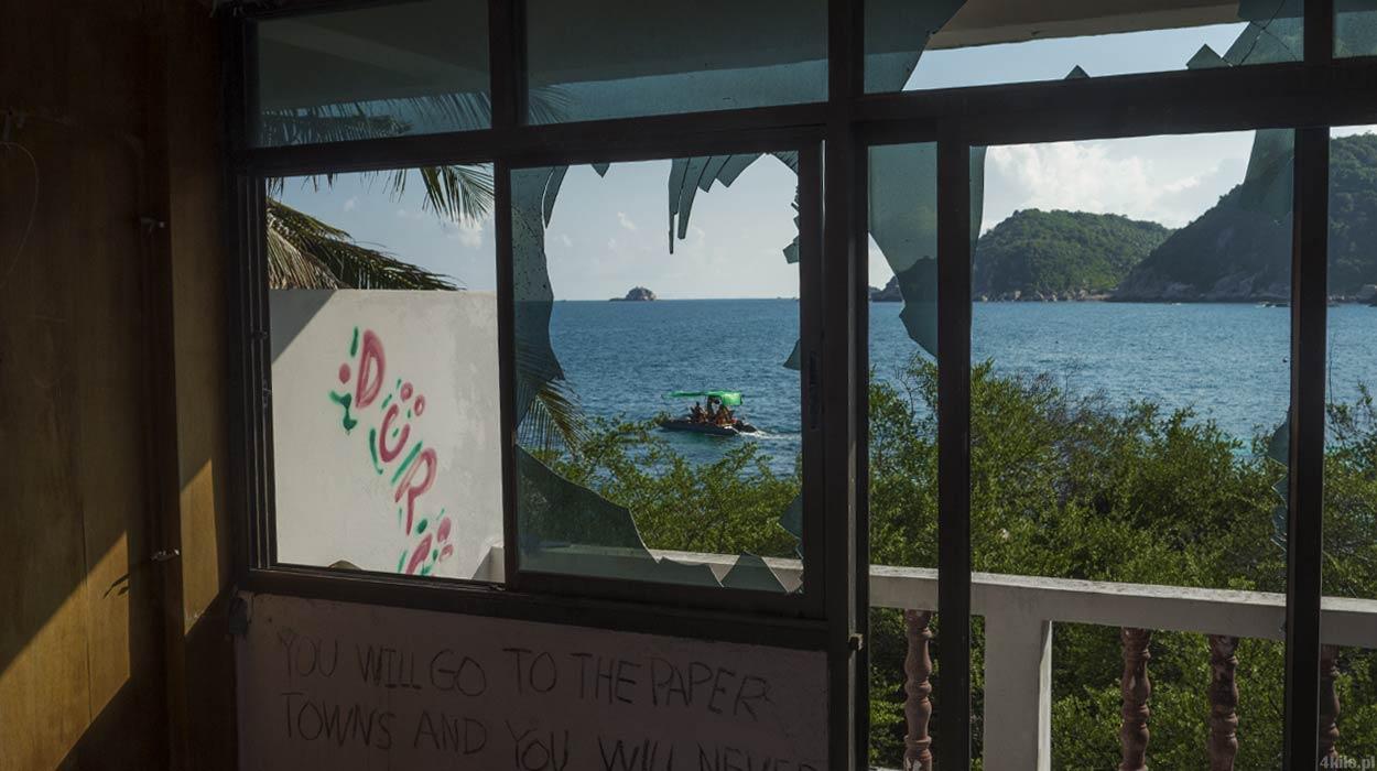 opuszczone domki i hotel tajlandia