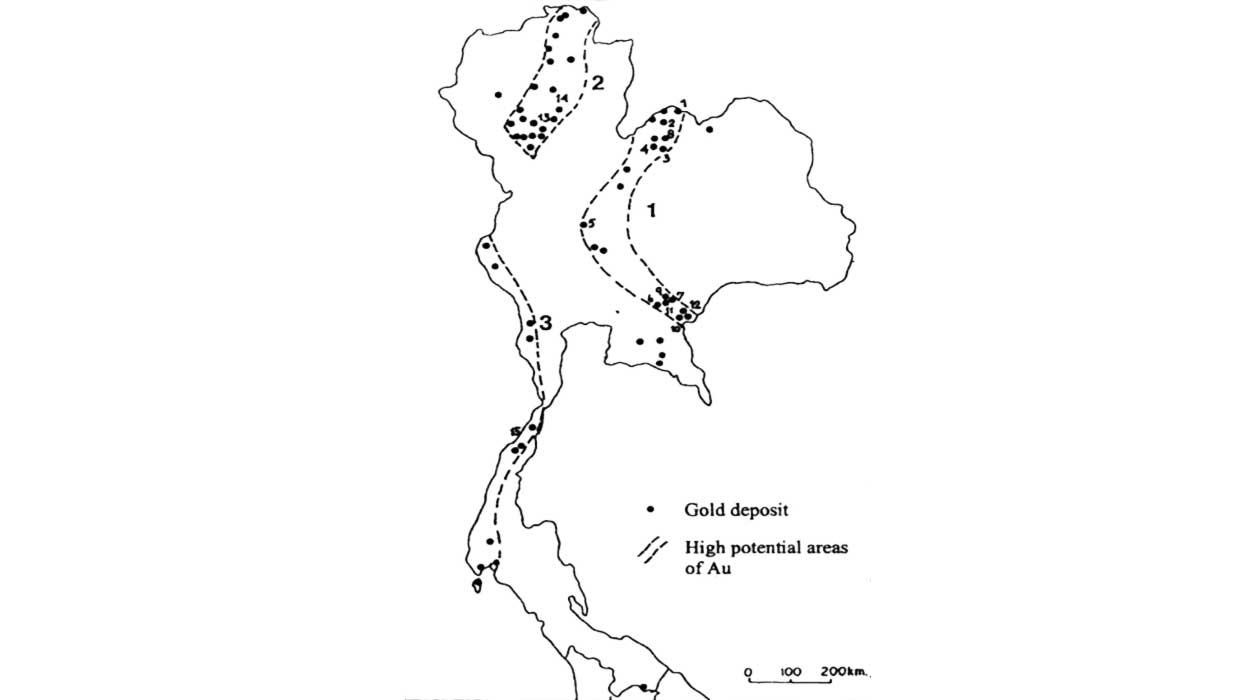 tajlandia mapa geologiczna