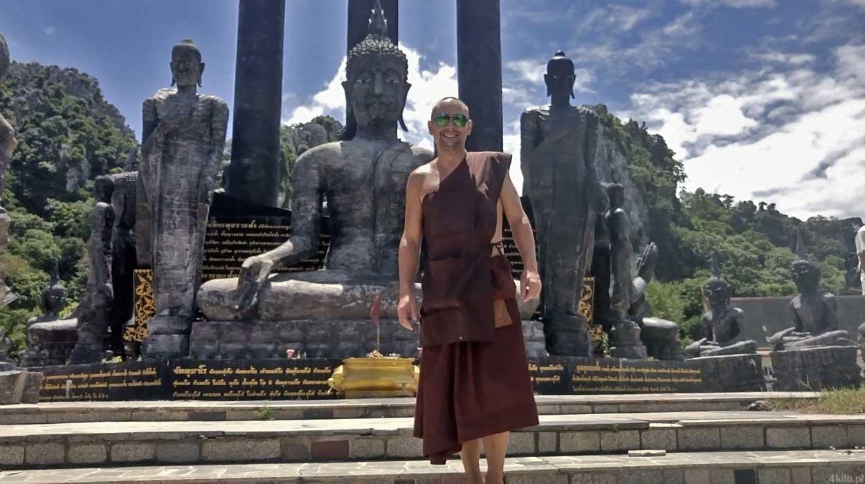 polak mnichem buddyjskim