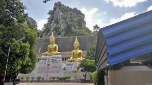 posąg buddy klasztor