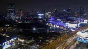 bangkok nocą widok nocy