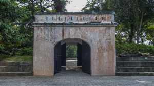 singapur fort canning park