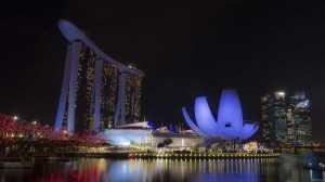 singapur widok miasto