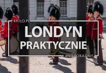 londyn zwiedzanie poradnik