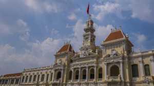 sajgon ratusz budynek kolonialny