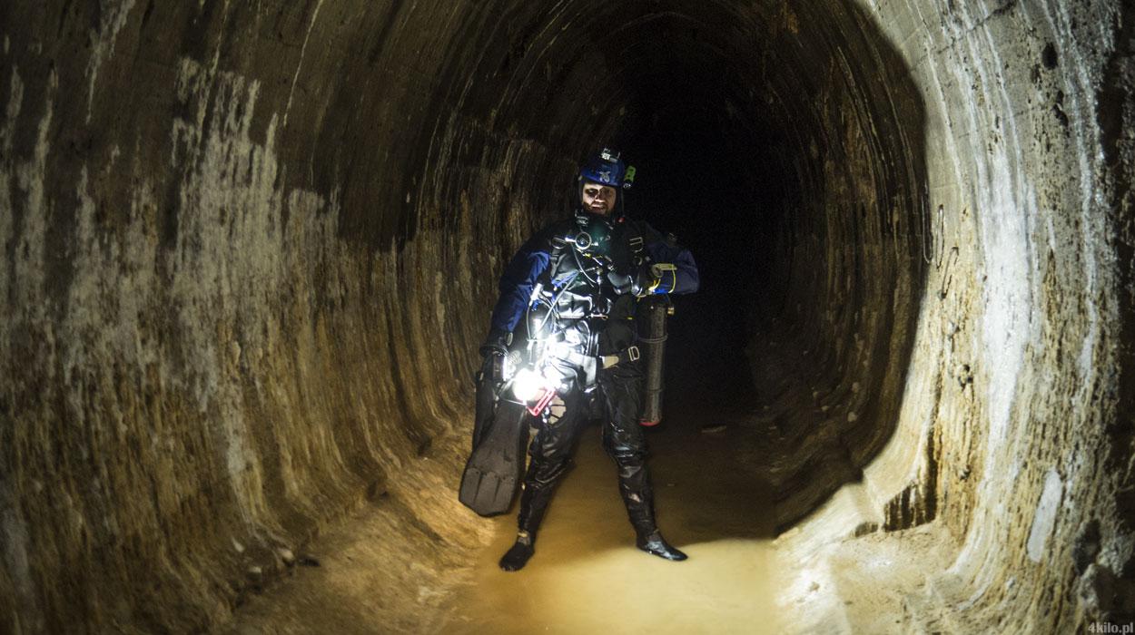 międzyrzecki rejon umocniony nurkowanie mru tunele